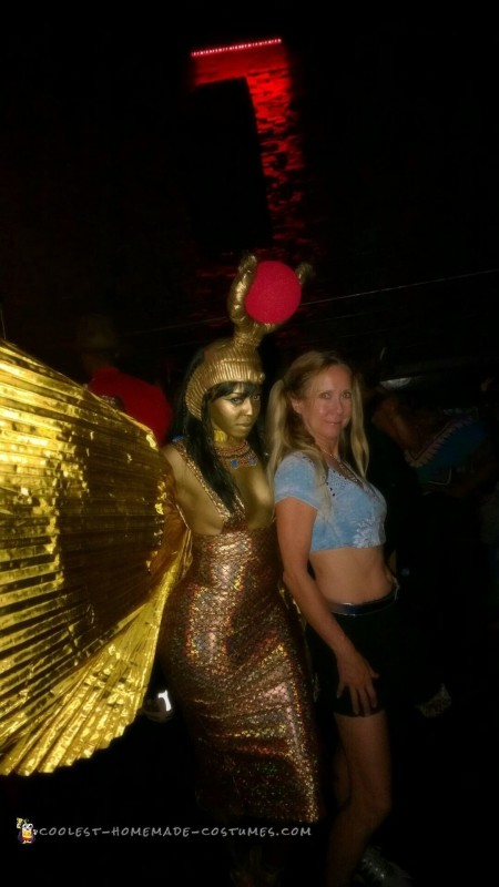 Goddess Isis Costume for the Handy, Dandy and Crafty - 7