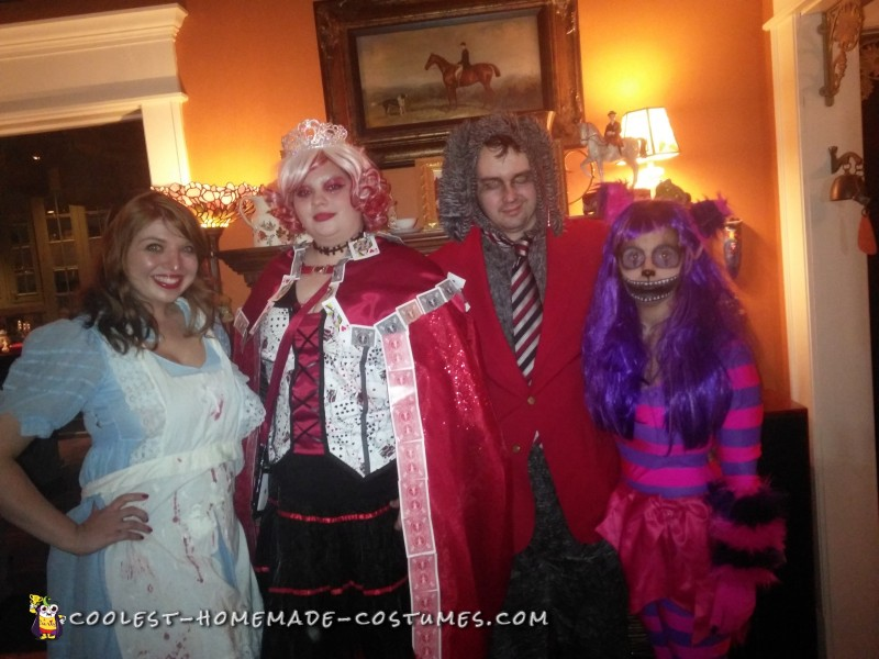 Handmade Dark Alice In Wonderland Costumes