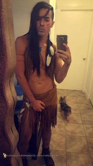 Guy Version of Pocahontas Costume