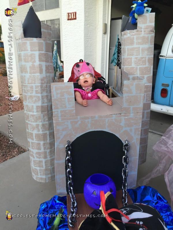 Handicap Little Girl Becomes a Princess - 1