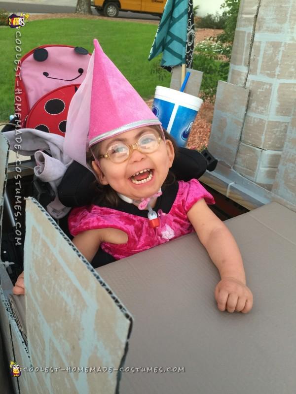 Handicap Little Girl Becomes a Princess - 4