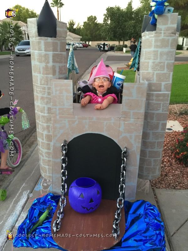 Handicap Little Girl Becomes a Princess - 6