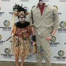 Cool Harry the Hunter and Voodoo Shaman Costumes from Beetlejuice