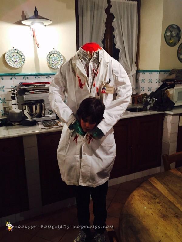 Headless Doctor Costume