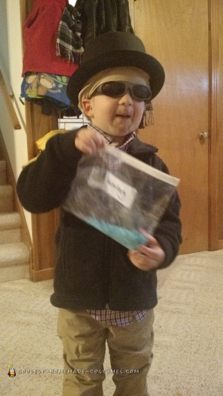 Heisenberg Toddler Costume