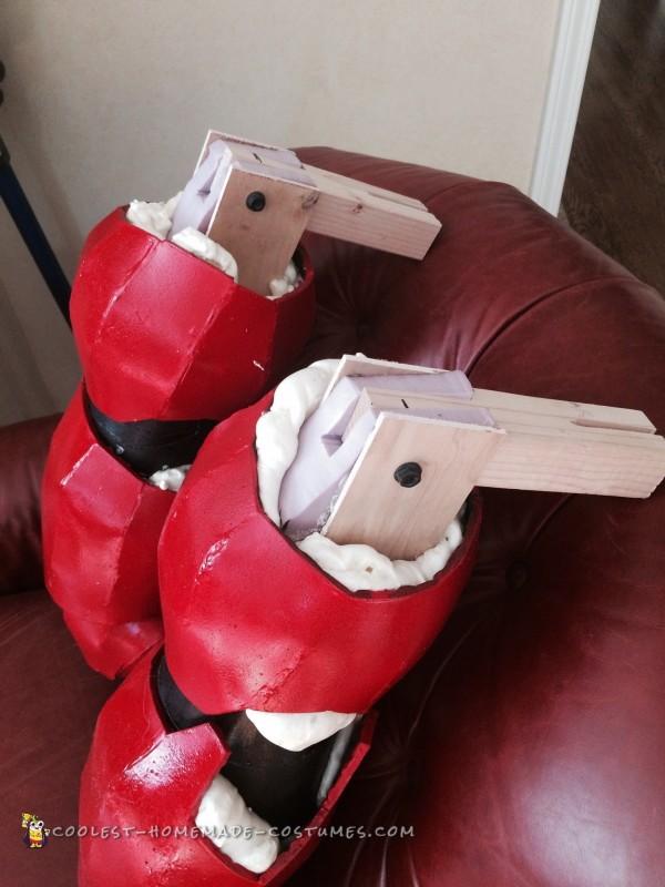 Hiro Riding Baymax Wheelchair Costume