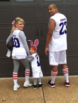 Homemade Space Jam Family Costumes!