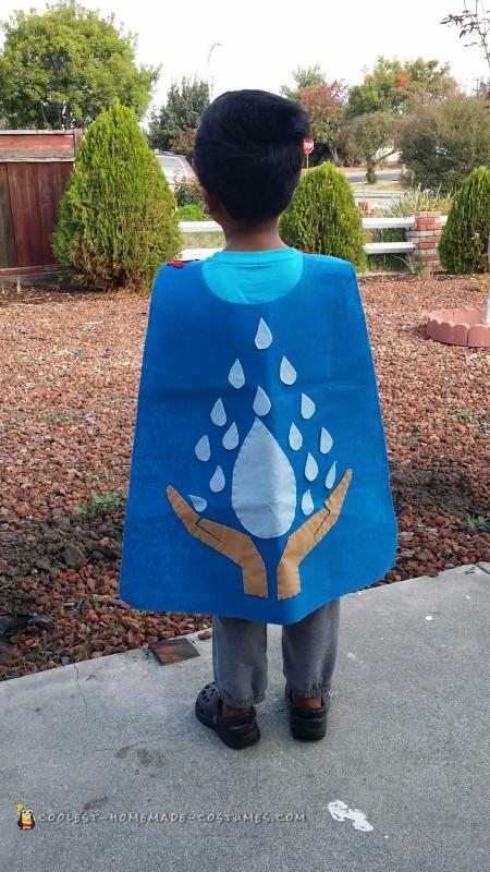 Homemade Water-Hero Costume - 3