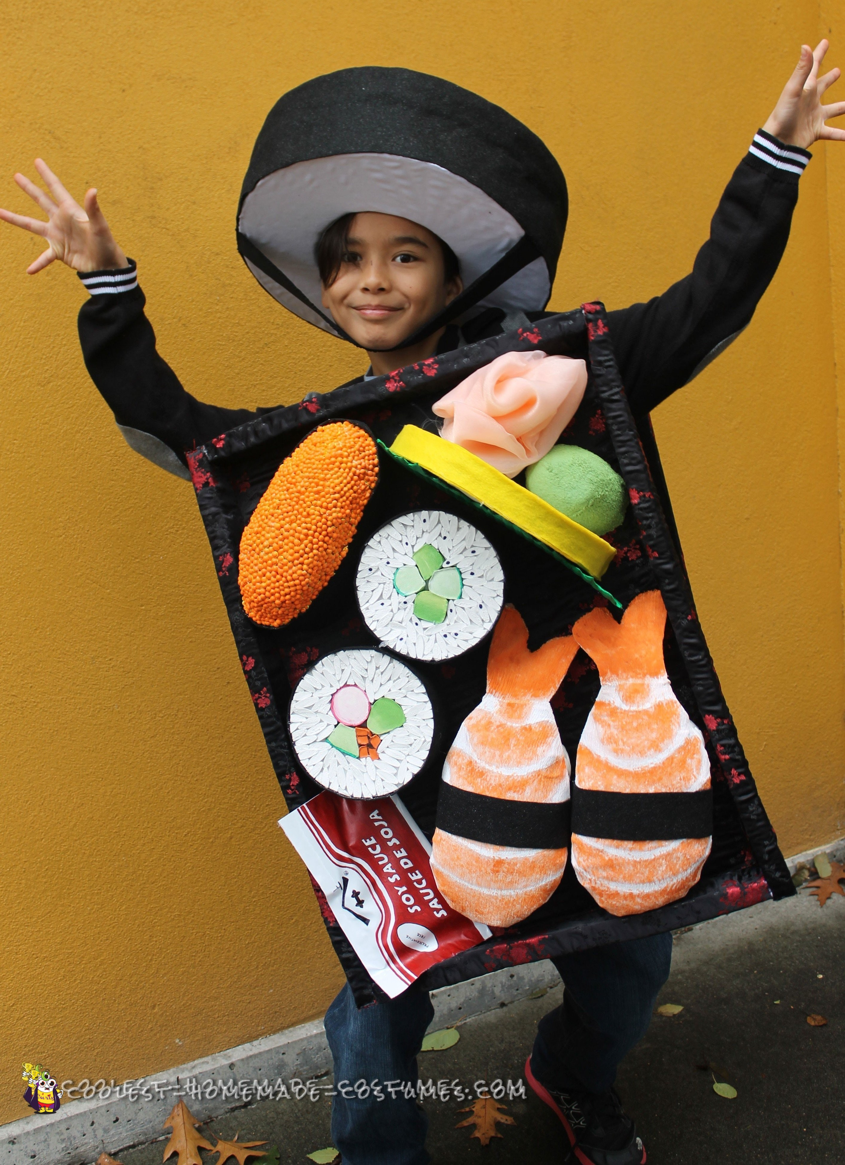 hooray for the sushi tray costume
