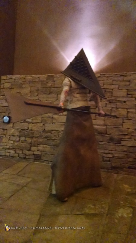 Pyramid Head and Claudia Wolf Couple Costume