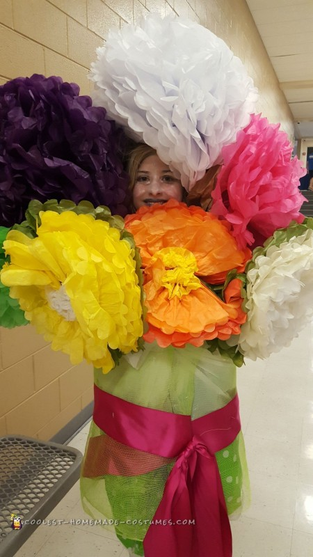 Huge Bouquet of Flowers Costume