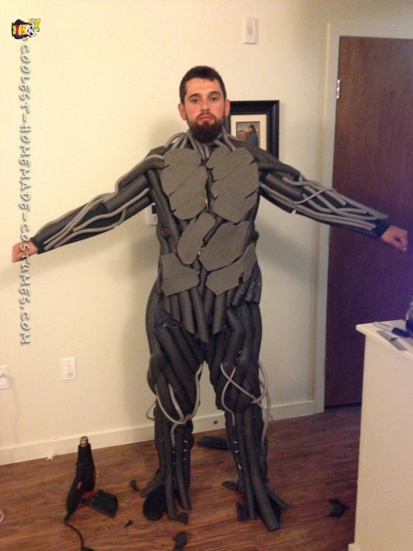 Coolest Ever 100% Homemade Groot Costume! - 6