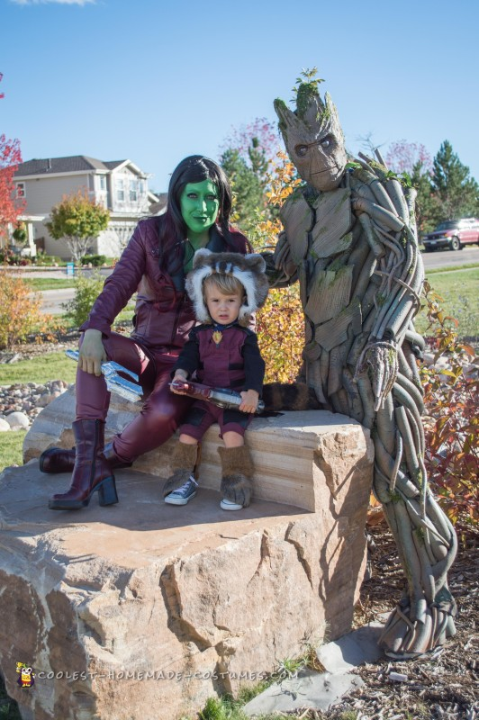 Coolest Ever 100% Homemade Groot Costume! - 3