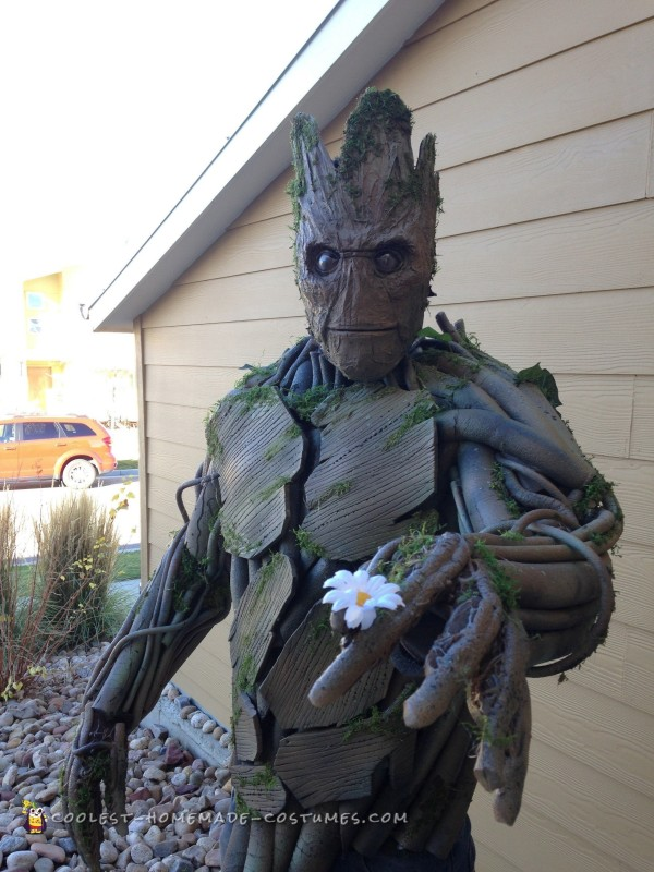 Coolest Ever 100% Homemade Groot Costume! - 1