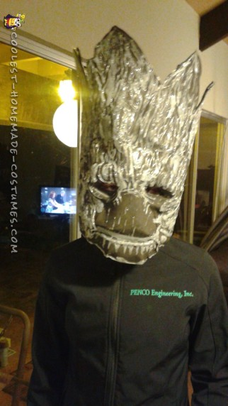 Awesome Groot Costume Made in Just Two Days!