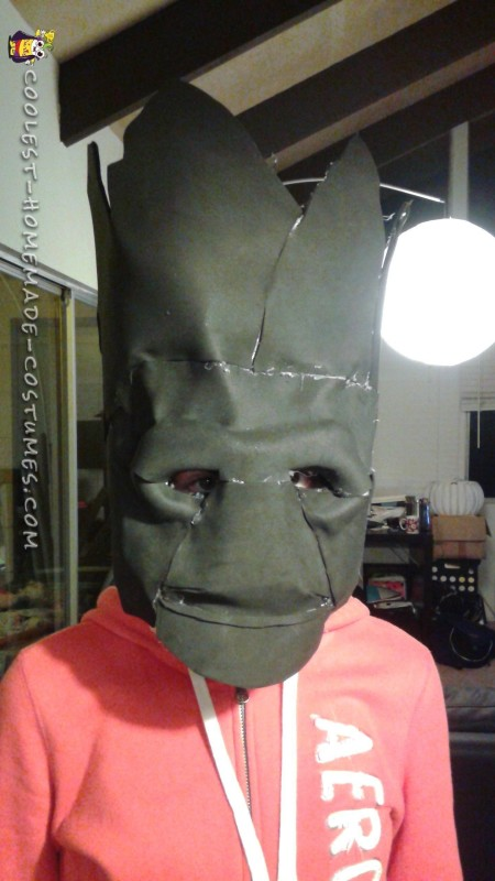 Awesome Groot Costume Made in Just Two Days! - 2