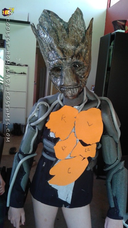 Awesome Groot Costume Made in Just Two Days! - 5