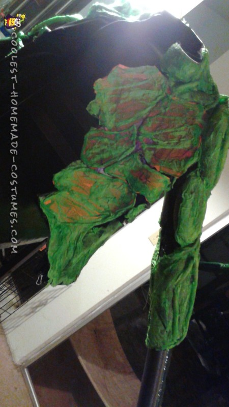 Awesome Groot Costume Made in Just Two Days! - 6