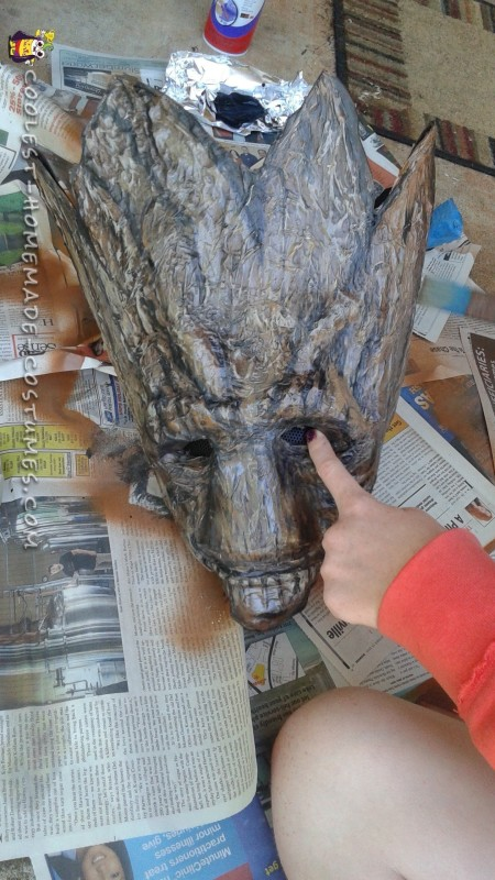 Awesome Groot Costume Made in Just Two Days! - 7