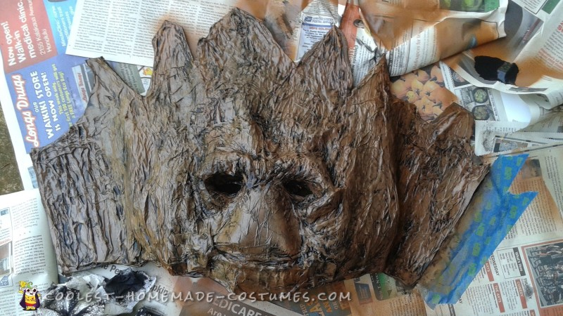 Awesome Groot Costume Made in Just Two Days! - 8