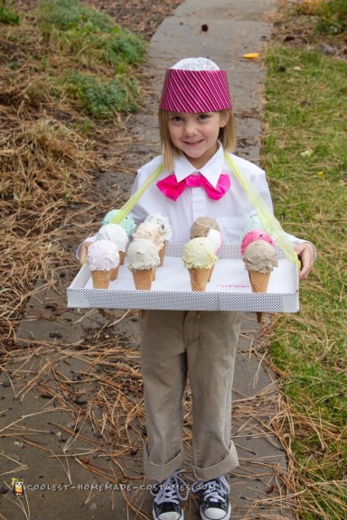Ice Cream Peddler Costume