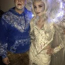 Cool Ice Queen and Jack Frost Couple Costume