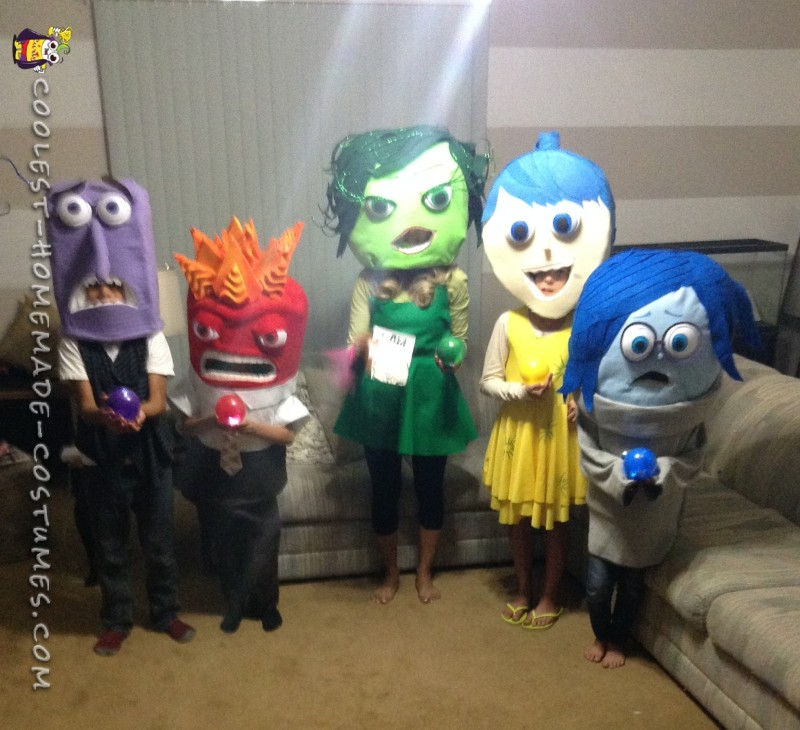 Inside Out Movie Costumes - 1