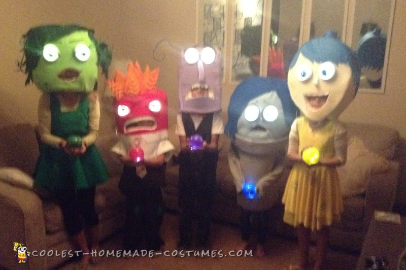 Inside Out Movie Costumes