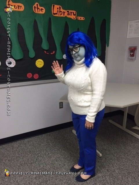 Cool Inside Out Costumes: Sadness and Anger - 6