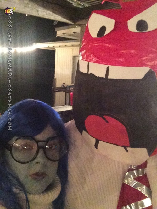 Cool Inside Out Costumes: Sadness and Anger - 4