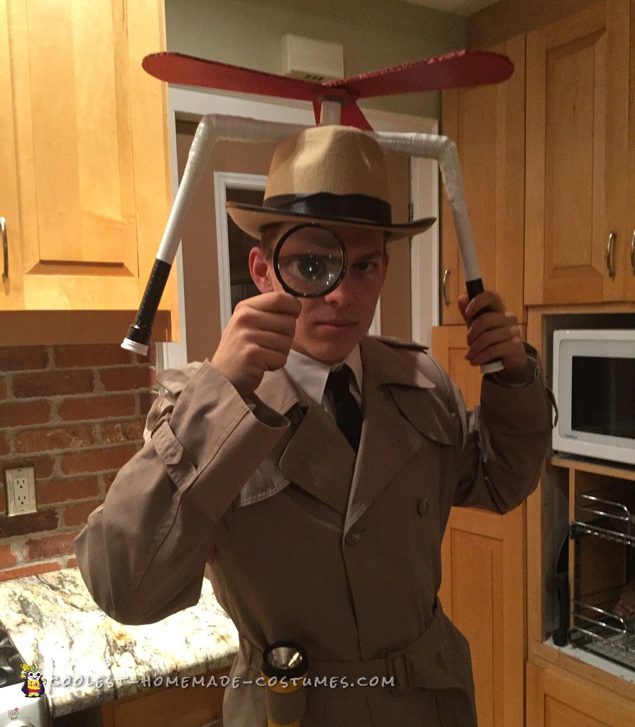 Cool Inspector Gadget Costume