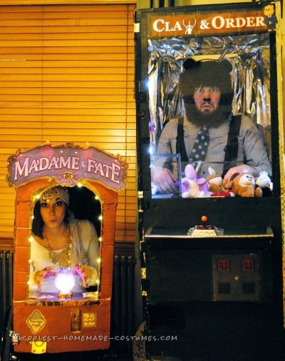 Interactive Arcade Game Couples Costume