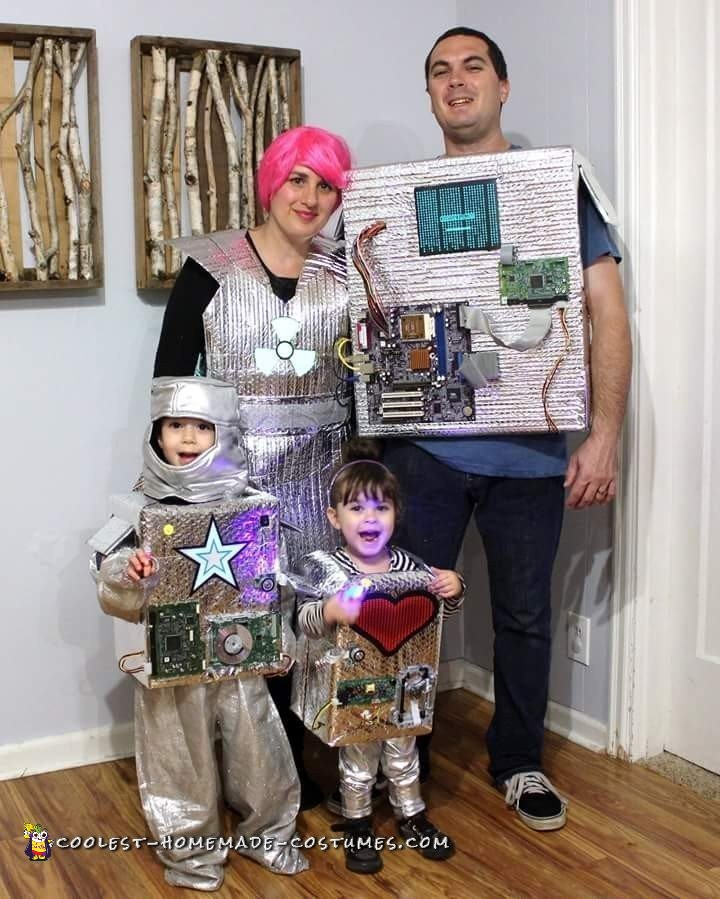 Interactive Nuclear Robot Family