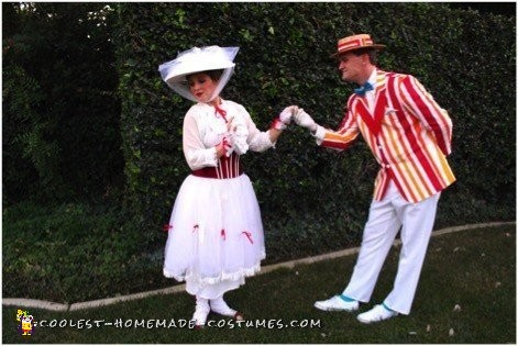 Mary Poppins and Bert Couple Costume - 2