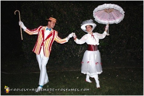 Mary Poppins and Bert Couple Costume - 1