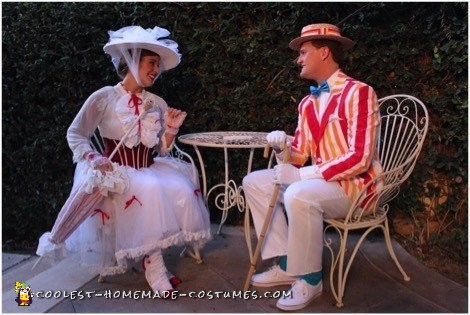 Mary Poppins and Bert Couple Costume - 4