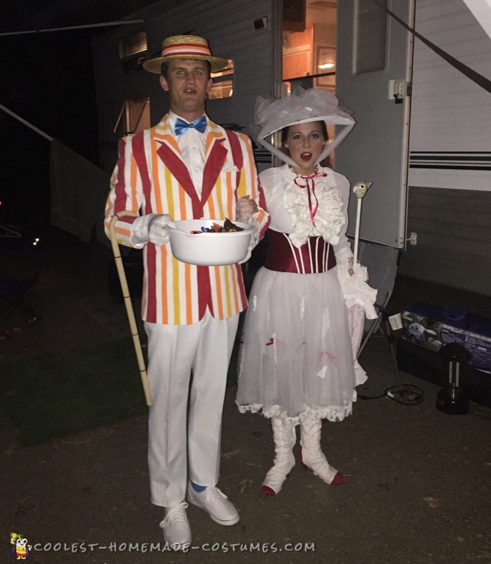 Mary Poppins and Bert Couple Costume - 3