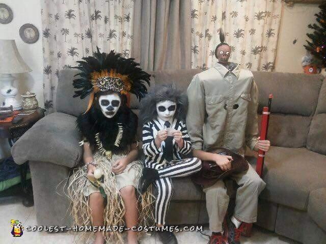 Beetlejuice Family Costume