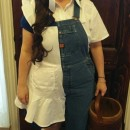 Half Jack Half Jill Costume