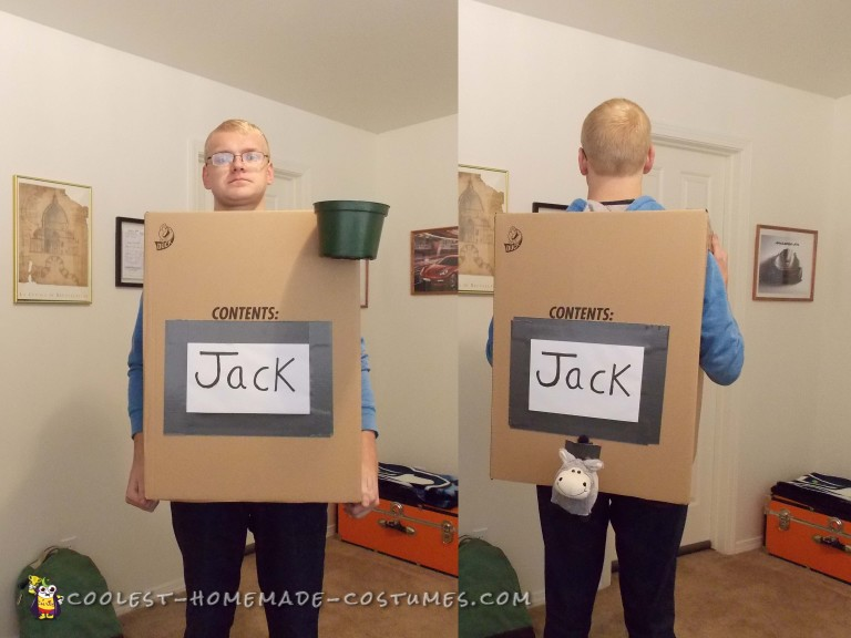 Jack in the Box Wordplay Costume