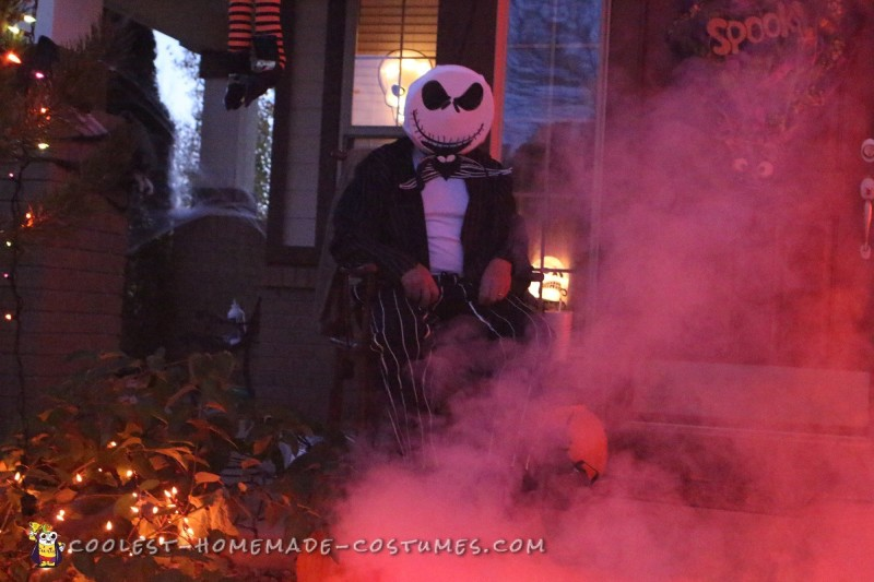 Jack Skellington Sr. and Jack Skellington Jr Costumes