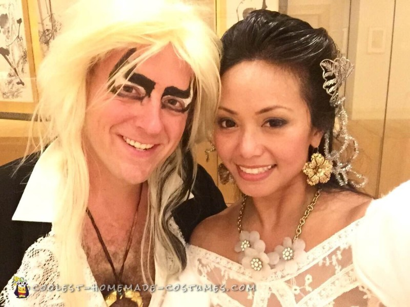 Jareth the Goblin King and Sarah from Labyrinth Couple Costume