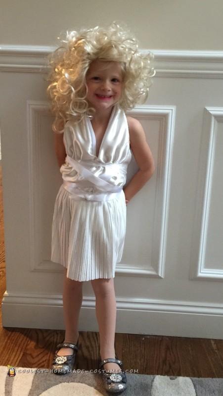 Marilyn Monroe age 3