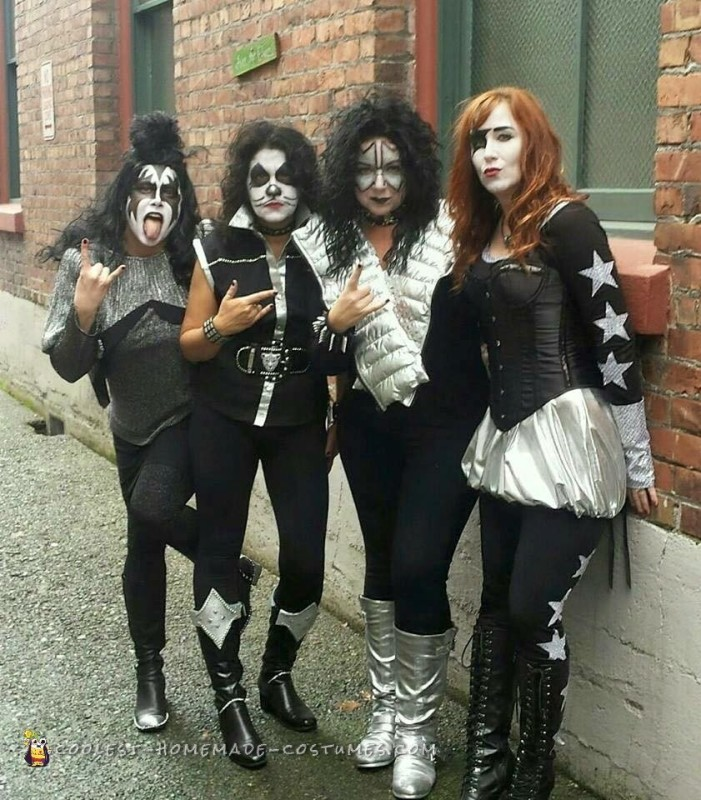 All-Girl Group Costume: KISS Rock Stars for a Day - 1
