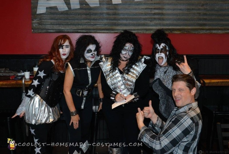 All-Girl Group Costume: KISS Rock Stars for a Day - 8
