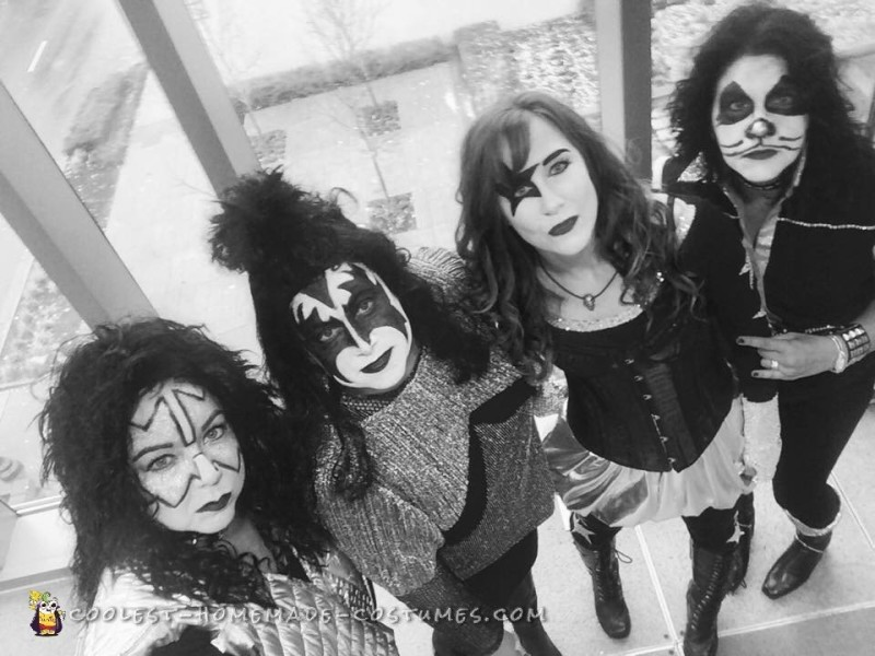 All-Girl Group Costume: KISS Rock Stars for a Day - 5