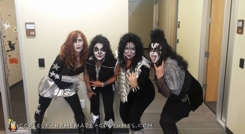 All-Girl Group Costume: KISS Rock Stars for a Day - 6