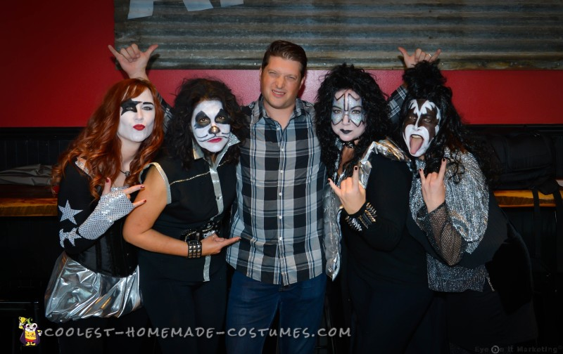 All-Girl Group Costume: KISS Rock Stars for a Day - 7