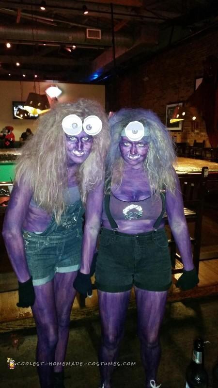 Last Minute DIY Evil Purple Minions Costumes - 2