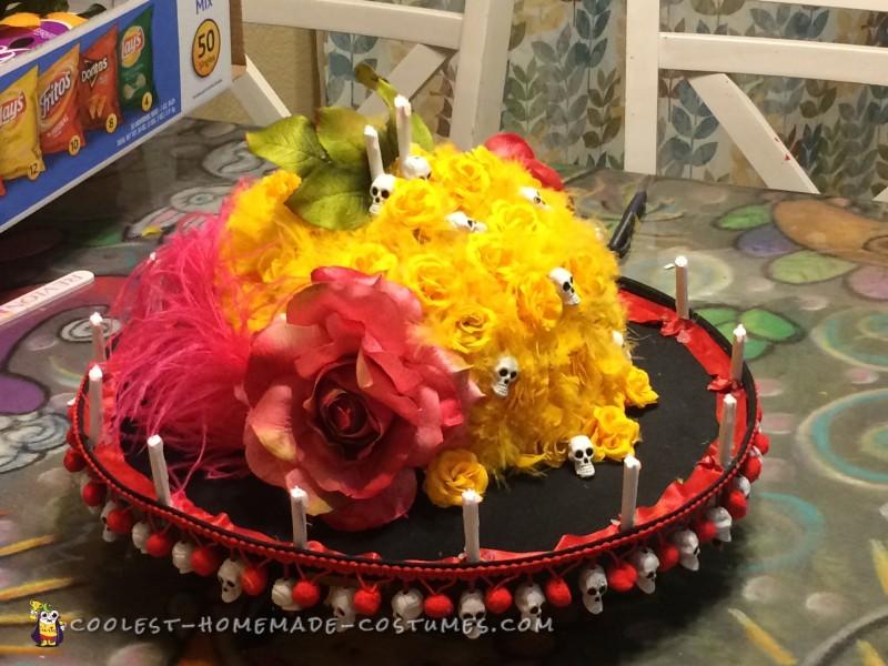 Pretty Dia De Los Muertos Costume for a Girl